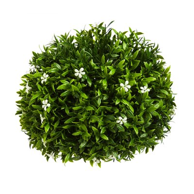 White Petals Topiary Orb
