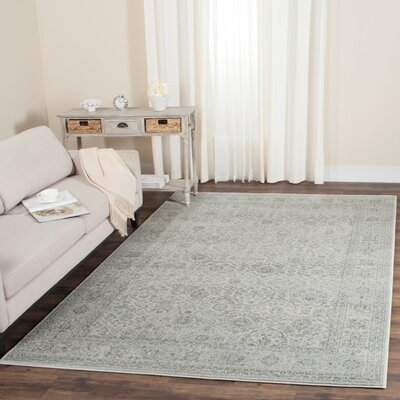 Akron Creek Light Gray/Gray Area Rug