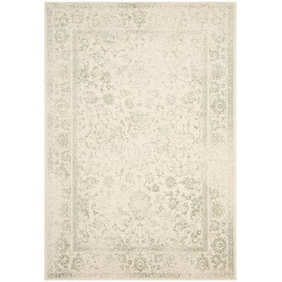 Issa Ivory/Sage Area Rug Rug Size: Rectangle 51 x 76