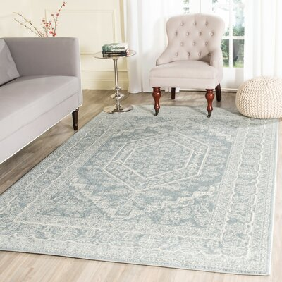 Ebenezer Slate Area Rug Rug Size: Rectangle 26 x 4