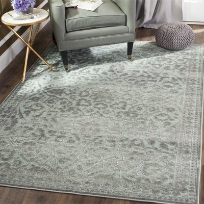 Ellicott Light Gray Area Rug Rug Size: Runner 22 x 8