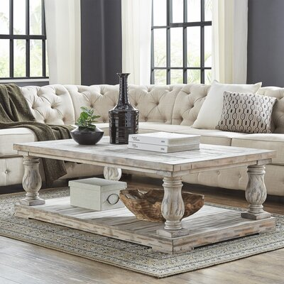 Lembach Coffee Table Color: Antique White