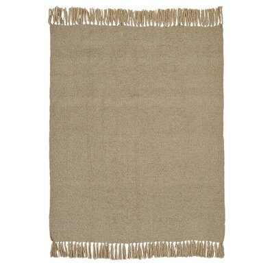 Orcus Woven Throw Color: Creme
