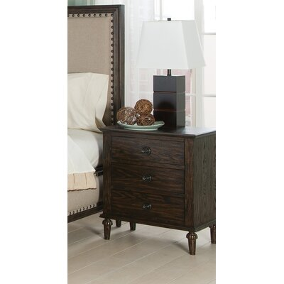 Laclair 3 Drawer Nightstand