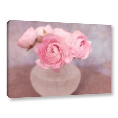 Shabby Elegance Flower Still Life by Cora Niele Graphic Art on Wrapped Canvas Size: 08