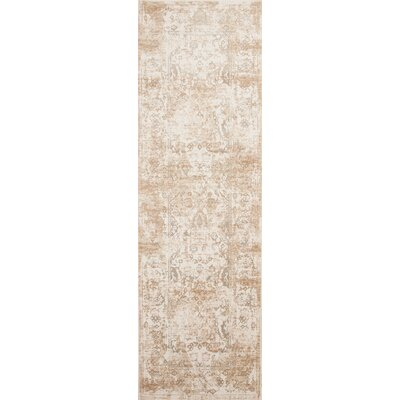 Camellia Ivory Area Rug Rug Size: Runner 22 x 611