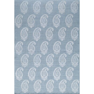 Dyann Hand-Woven Soft Blue Area Rug Rug Size: Rectangle 2 x 3