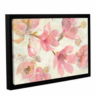 'Magnolias in Bloom' by Albena Hristova Framed Painting Print