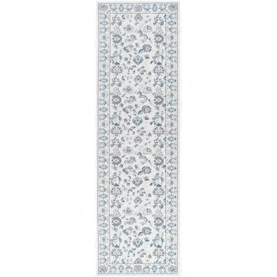 Abril Cream Indoor/Outdoor Area Rug Rug Size: Runner 2 x 76