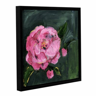 Romantic Floral I Framed Painting Print Size: 10
