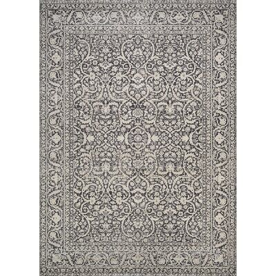 Attie Persian Cypress/Burnt/Kindling Area Rug Rug Size: 92 x 129