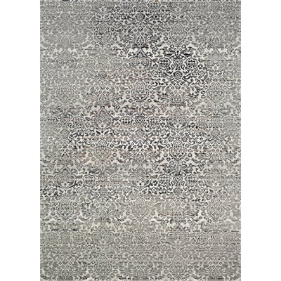 Alixton All Over Kerman Gray Area Rug Rug Size: 311 x 56