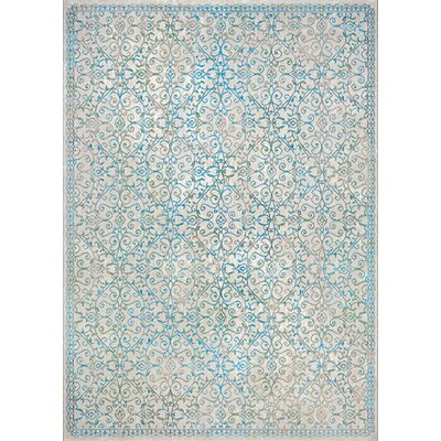 Attie Ocean Sand Area Rug Rug Size: Rectangle 92 x 129