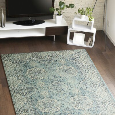 Amhurst Multi-Colored Area Rug Rug Size: 36 x 56