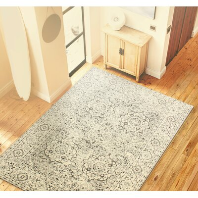 Amhurst Silver Area Rug Rug Size: Rectangle 86 x 116