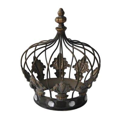 Bronze Metal Decorative Jeweled Crown LARK9182 34933481