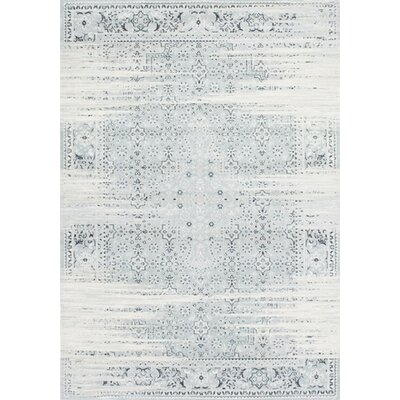 Amistey Lake Blue Area Rug Rug Size: 53 x 77