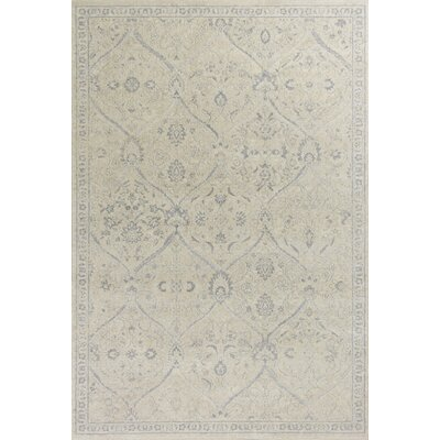 Pattison Beige Area Rug Rug Size: Rectangle 53 x 77