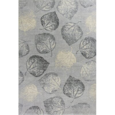 Pattison Serenity Gray Area Rug Rug Size: Rectangle 53 x 77