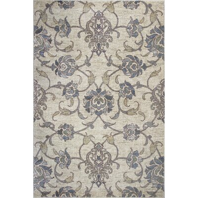 Naiara Beige Area Rug Rug Size: Rectangle 53 x 78