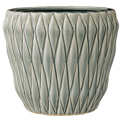 Aurelien Ceramic Pot Planter Color: Mint