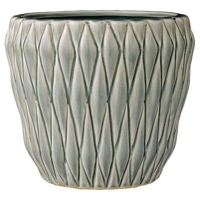 Aurelien Ceramic Pot Planter Color: Mint