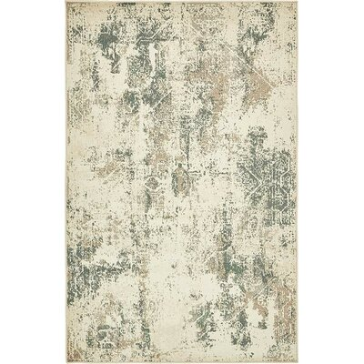 Kentville Beige Area Rug Rug Size: Rectangle 5 x 8