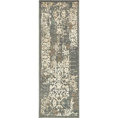 Alessa Tibetan Gray Area Rug Rug Size: Runner 2 x 6