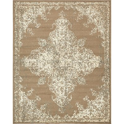 Forcalquier Tibetan Brown Area Rug Rug Size: 8 x 10