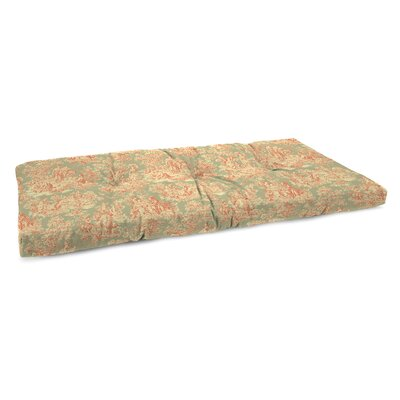Indoor Bench Cushion Fabric: Charmed Life Clay