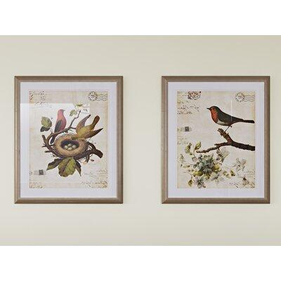 Trepanier 2 Piece Framed Graphic Art Set