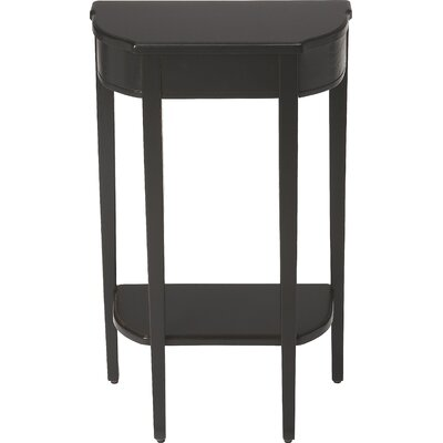 Baroncourt Console Table Finish: Black Licorice