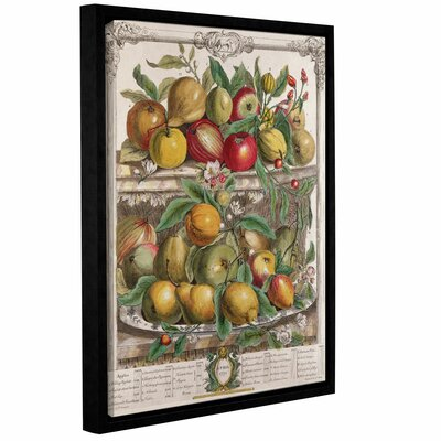 April from Twelve Months of Fruit Framed Graphic Art