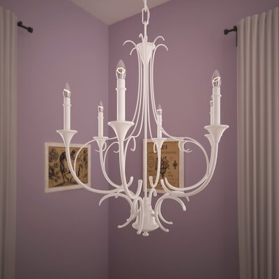 Clarisse 6-Light Candle-Style Chandelier