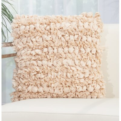 Eillet Throw Pillow Color: Beige