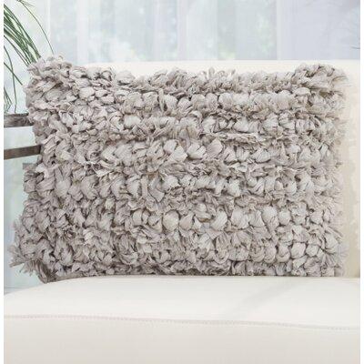 Eillet Throw Pillow Color: Gray