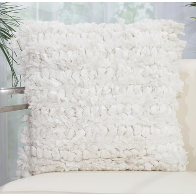 Eillet Throw Pillow Color: White