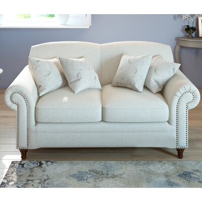 Axelle Loveseat in White