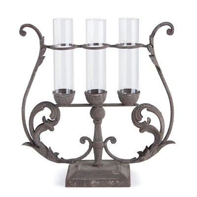 Vintage Glass Cupid's Table Vase