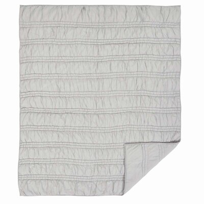 Claude 2 Piece Quilt Set Color: Porcelain White