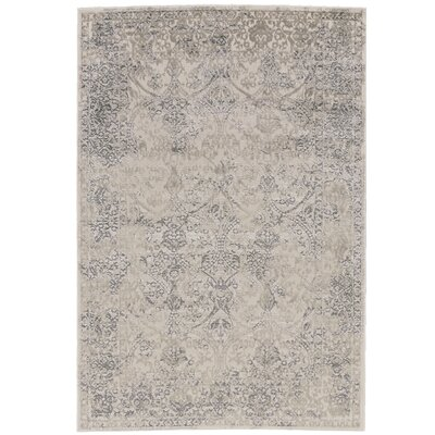 Pavonis Gray Area Rug Rug Size: 8' x 11'