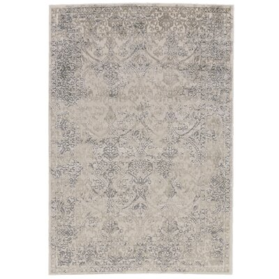 Pavonis Gray Area Rug Rug Size: 5' x 8'