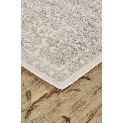 Pavonis Gray Area Rug Rug Size: Rectangle 5 x 8