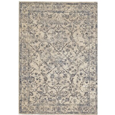 Colbey Gray Area Rug Rug Size: Rectangle 92 x 122