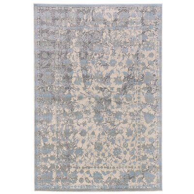 Pavonis Gray/Blue Area Rug Rug Size: 10 x 132