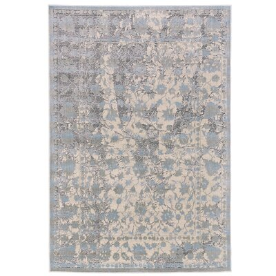 Pavonis Gray/Blue Area Rug Rug Size: Rectangle 5 x 8