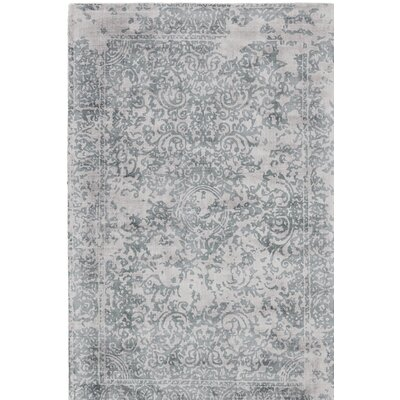 Pawlak Hand-Tufted Gray Area Rug Rug Size: Rectangle 2 x 3
