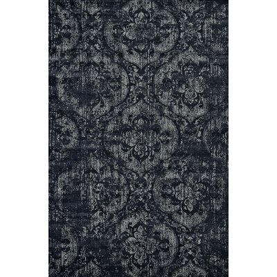 Pavone Black Area Rug
