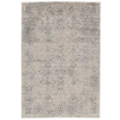 Pavonis Gray Area Rug Rug Size: Runner 2'10
