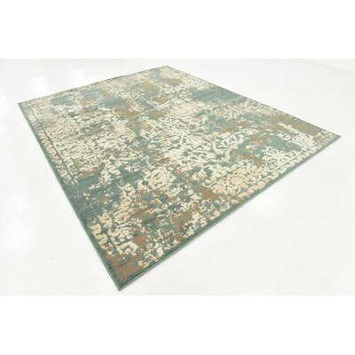 Pauley Green Indoor Area Rug Rug Size: 8' x 10'